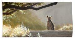 Keeping Watch - Cheetah Hand Towel