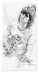 Keith Richards Exile Hand Towel