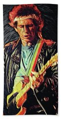 Keith Richards Hand Towel