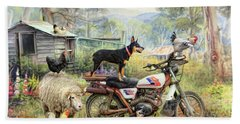 Kelpie Karetakers Bath Towel