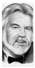 Kenny Rogers Bath Towel