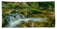 Kens Creek In Cranberry Wilderness Hand Towel