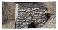 Kent Iron Furnace Bath Towel by Catherine Gagne