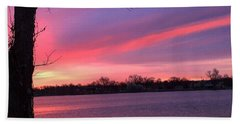 Hand Towel featuring the photograph Kentucky Dawn by Sumoflam Photography