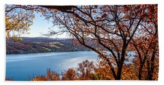 Keuka Lake Vista Hand Towel by William Norton