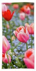 Keukenhof Tulips - Amsterdam Bath Towel
