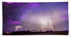 Kewl Nebraska Cg Lightning And Krawlers 038 Bath Towel