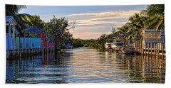 Key Largo Canal Hand Towel
