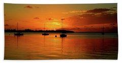 Key Largo Sunset Hand Towel