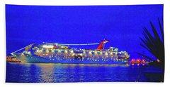 Key West Cruising  Bath Towel