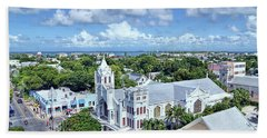Hand Towel featuring the photograph Key West by Olga Hamilton