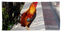 Key West Rooster Hand Towel