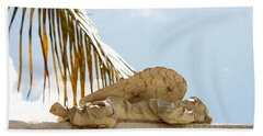 Key West Sleeping Angel Hand Towel