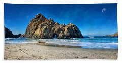 Hand Towel featuring the photograph Keyhole Rock At Pheiffer Beach #14 - Big Sur, Ca by Jennifer Rondinelli Reilly - Fine Art Photography