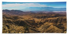 Keys View Overlook Panorama Hand Towel