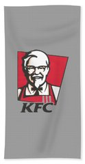 Kfc T-shirt Bath Towel by Herb Strobino