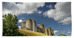 Kidwelly Castle 4 Bath Towel
