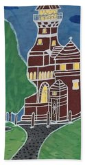 Kiel Germany Lighthouse. Bath Towel