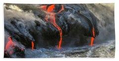 Kilauea Volcano Hawaii Bath Towel
