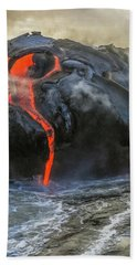 Kilauea Volcano Hawaii Bath Towel