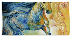 Kindred Spirits  Hand Towel by Marcia Baldwin