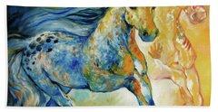 Kindred Spirits  Bath Towel by Marcia Baldwin