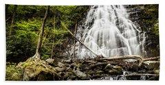Crabtree Falls - Blue Ridge Parkway North Carolina Bath Towel