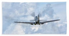King Cobra Departing - 2017 Christopher Buff, Www.aviationbuff.c Bath Towel