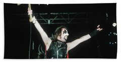 King Diamond Of Mercyful Fate Bath Towel