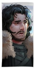 King In The North Bath Towel by Michael Myers