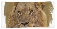 King Of Beasts 6 Bath Towel
