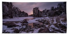 Bath Towel featuring the photograph King Of Frost by Aaron J Groen