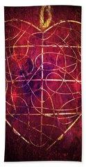Bath Towel featuring the photograph King Of Hearts by Linda Sannuti