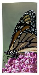 King Of The Butterflies Bath Towel by Stephen Flint