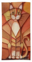 King Of The Cats Hand Towel