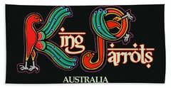 King Parrots Australia Bath Towel