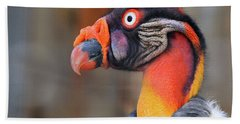King Vulture Hand Towel by Paul Marto