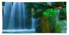 Kingfisher Falls Bath Towel