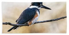 Kingfisher Listens Bath Towel