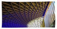 Kings Cross Railway Station Roof Hand Towel