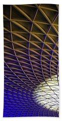 Kings Cross Railway Station Roof Bath Towel