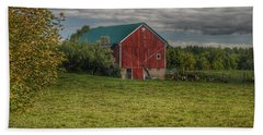 0039 - Kingston's Plain Road Cow Barn I Bath Towel