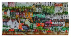 Kinsale Panorama, West Cork Bath Towel