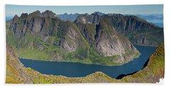Kirkefjord View From Munken Hand Towel