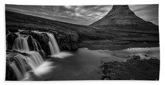 Kirkufellsfoss  Bath Towel by Gunnar Orn Arnason