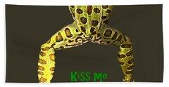 Kiss Me I'm A Prince Bath Towel by David and Lynn Keller