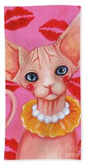 Kiss Sphynx Bath Towel