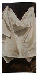 Painting Alla Rembrandt - Minimalist Still Life Study Bath Towel