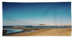 Kitesurf On The Beach Hand Towel