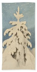 Kittelsen, Theodor 1857-1914 The Christmas Tree Hand Towel